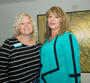 Colleen DePasquale and Peg Elmore